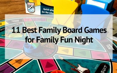 11 Best Family Board Games for Family Fun Night