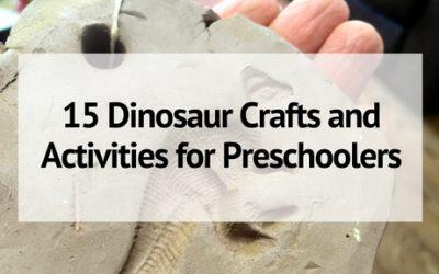 15 Dinosaur Crafts and Activities for Preschoolers