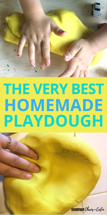 best homemade playdough