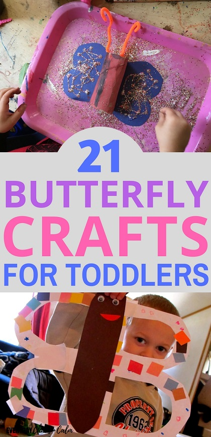 21 Butterfly Crafts And Activities For Toddlers And Preschoolers