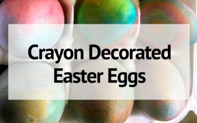 How to Decorate Easter Eggs Using Crayons