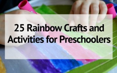 25 Colorful Rainbow Crafts and Activities for Preschoolers