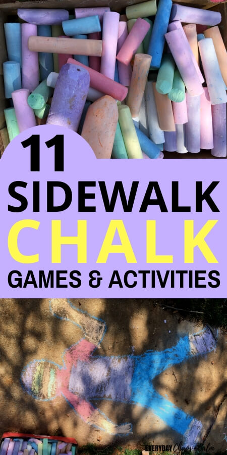 11 Sidewalk Chalk Games and Activities for Kids (1)