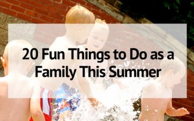 20 Fun Summer Activities for Kids- and Families!