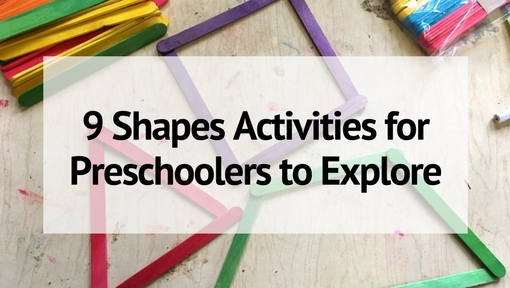 9 Engaging Shape Activities for Preschoolers (& Toddlers) to Explore