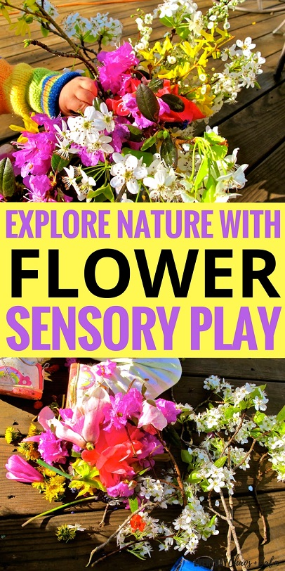 Sensory Activities for Kids: Let your child learn about nature by exploring flowers in this sensory activity