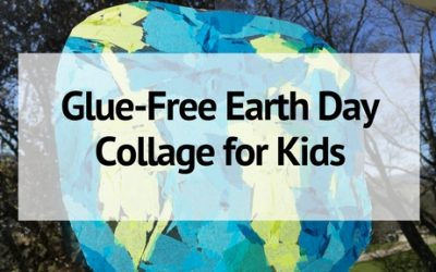 Glue-Free Earth Day Collage for Kids