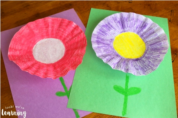 coffee filter flowers preschool 13 colorful flower crafts for preschoolers 984