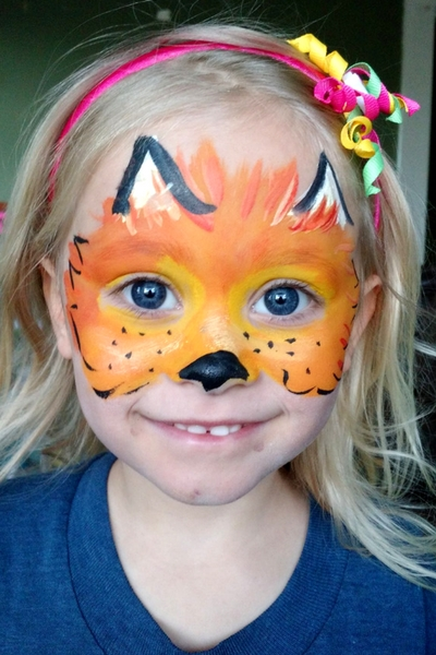 Face Painting Idea 1 Fox