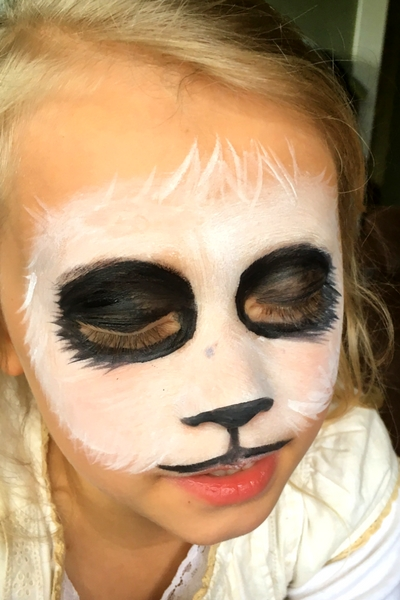 Step By Step Easy Panda Face Paint Tutorial