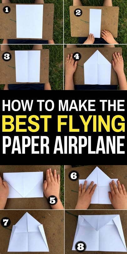 Paper airplanes are a ton of fun to make- but they are even more fun if they fly well! Try this paper airplane design- created by my 12 year old son, it is one of the best paper airplane designs for long flights and distance.