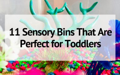 11 Sensory Bins That Are Perfect for Toddlers