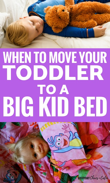 Parenting Tips:Is your toddler ready to move from the crib to a big bed? Read about when the best time is to make the move and some tips on making the transition go smoothly.