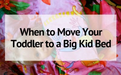 When to Move Your Toddler to a Big Kid Bed