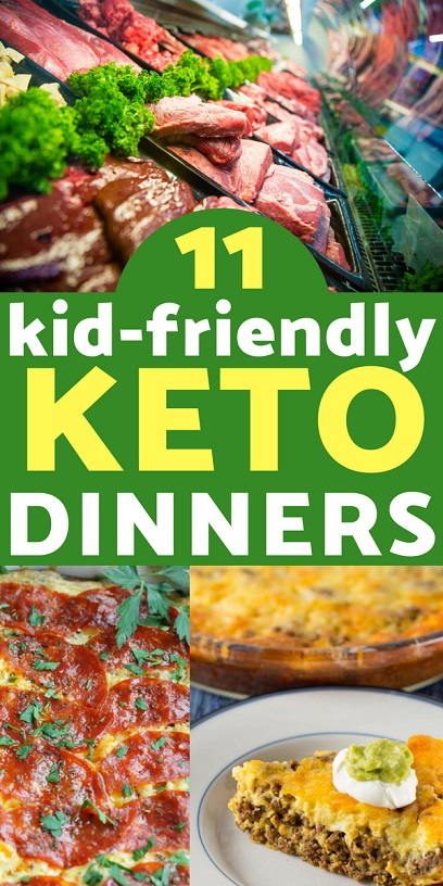 Keto Recipes: Making dinner can be a battle in any family. Don't make multiple meals for every diet- here are 11 keto dinner recipes that even your kids will love!