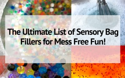 The Ultimate List of Sensory Bag Fillers for Mess Free Fun!