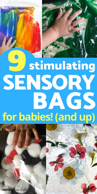 9 Stimulating Sensory Bags for Babies (and Big Kids too!)