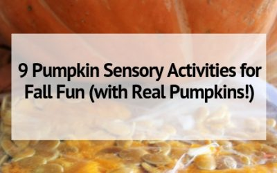 9 Pumpkin Sensory Activities for Fall Fun (with Real Pumpkins!)
