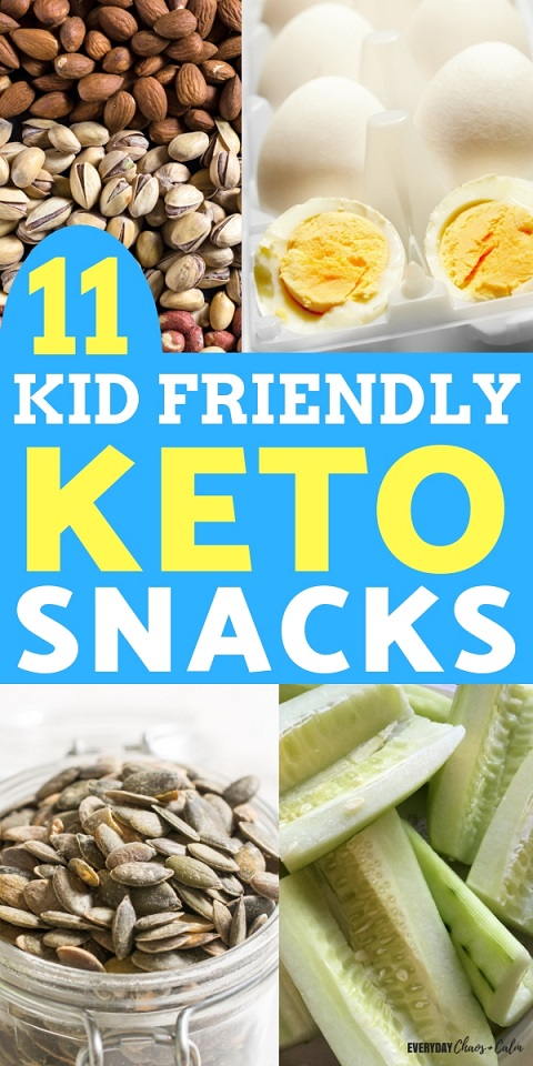 Kid Friendly Recipes: Make life easier by keeping the whole family on the same meal plan! Try out these 11 Kid Friendly Keto snacks to keep the whole family happy!