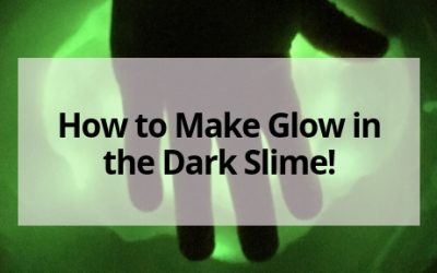 How to Make Glow in the Dark Slime!
