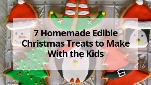 7 Homemade Christmas Treats to Make With the Kids