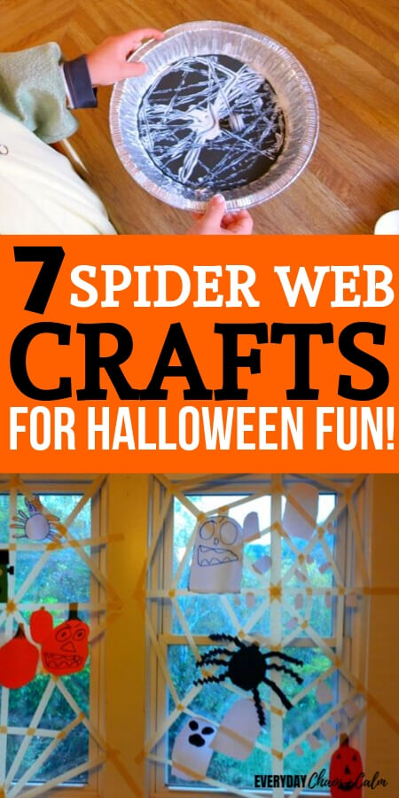 7 Spider Web Crafts for Halloween Fun!