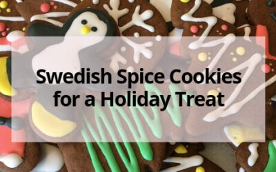 Swedish Spice Cookies for a Holiday Treat