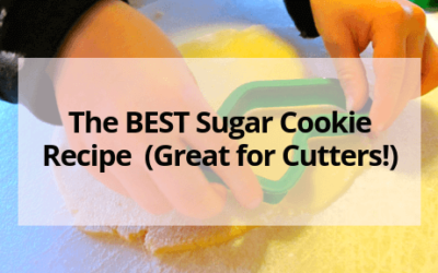 The BEST Sugar Cookie Recipe (Great for Cutters!)