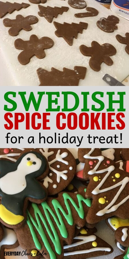 swedish spice cookie recipe title
