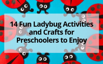 14 Ladybug Activities and Crafts for Preschoolers