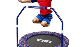 Kids Trampoline -Mini Foldable Trampoline for Indoor and Outdoor