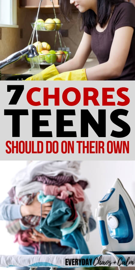 7 Chores Your Teens Should Be Doing (Without Being Reminded!) Title