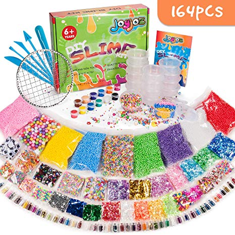 Huge Party Slime Add Ins Kit (164 pieces)