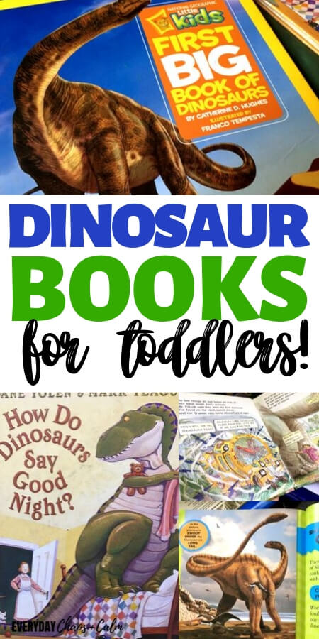 The BEST Dinosaur Books for Toddlers