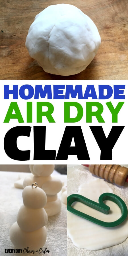 The Best Homemade Air Dry Clay Recipe