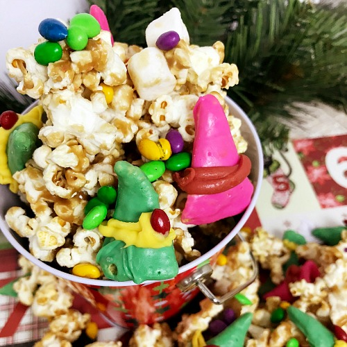 Elf Maple Holiday Popcorn