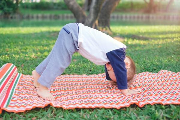 gross motor activity- Yoga