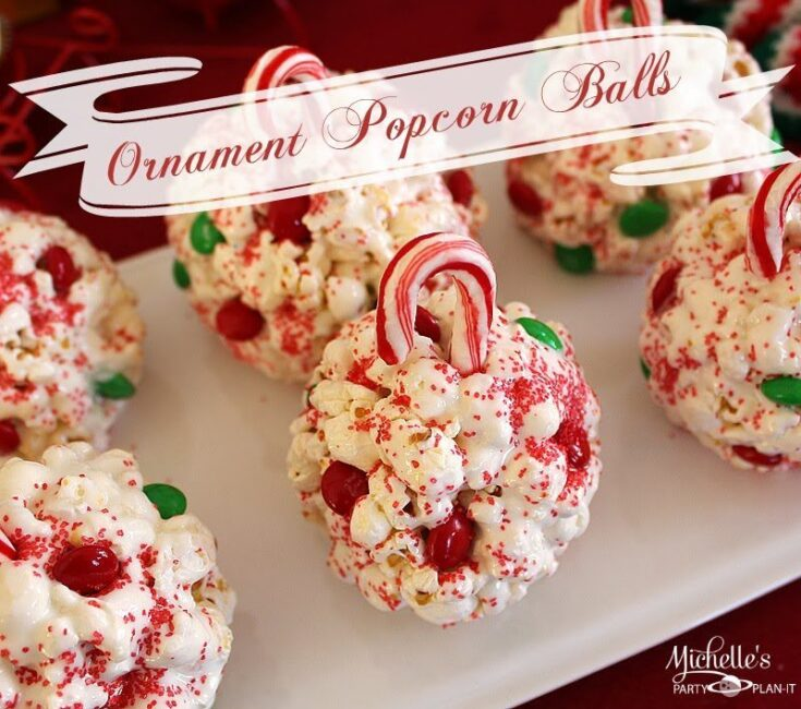 How to Make Popcorn Ball Ornaments for Christmas