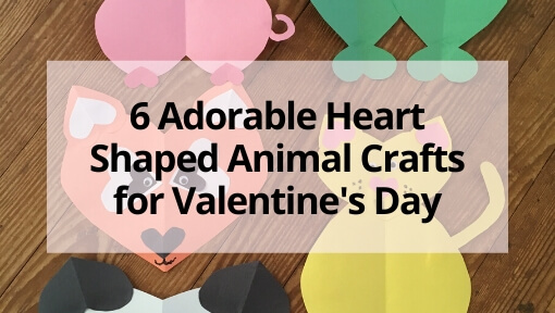 6 Adorable Heart-Shaped Animal Crafts for Valentine's Day