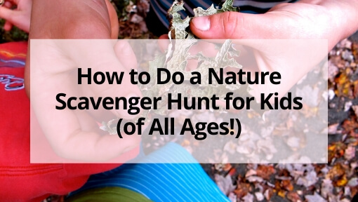 How to Do a Nature Scavenger Hunt for Kids (of All Ages!)