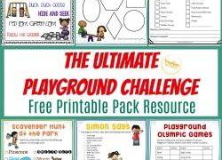 Nature Scavenger Hunt For Kids {with FREE printables!}