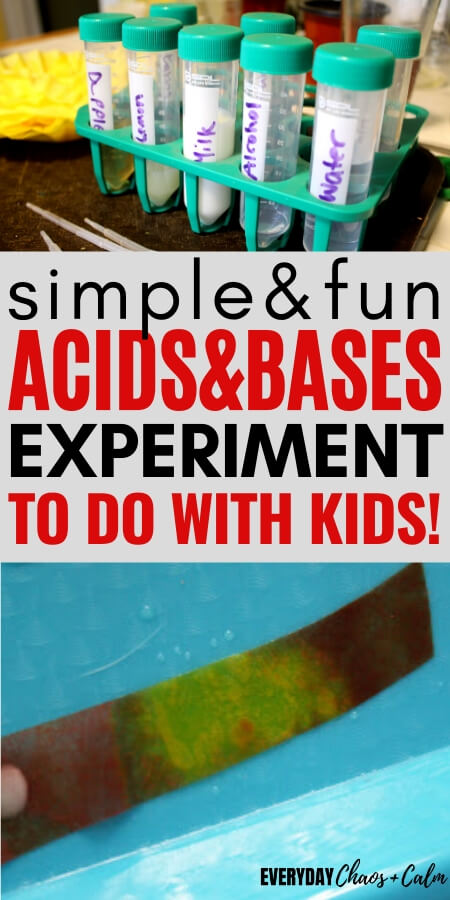 simple and fun acids and bases experiment to do with the kids