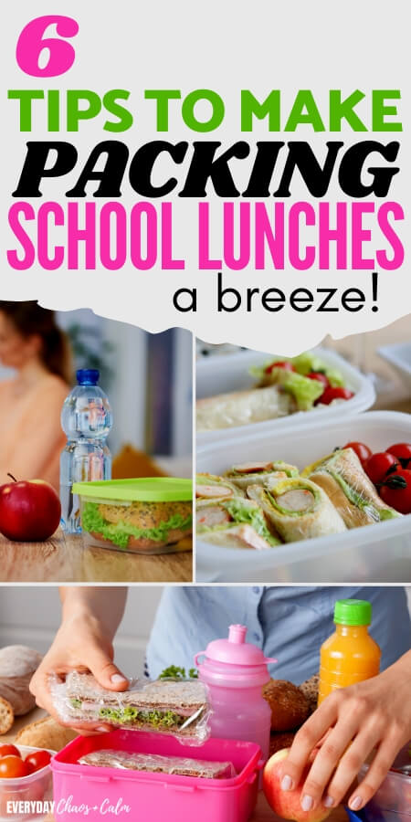 6 tips to make packing school lunches a breeze