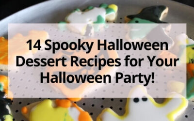 14 Spooky Halloween Dessert Recipes for Your Halloween Party!