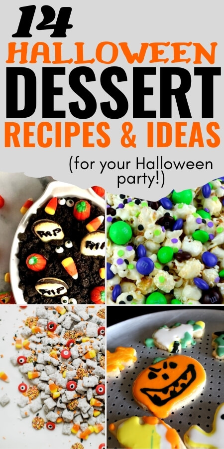 14 Halloween Dessert Recipes and ideas for Your Halloween Party!