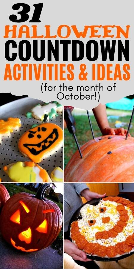 31 countdown to halloween activities and ideas for the month of october