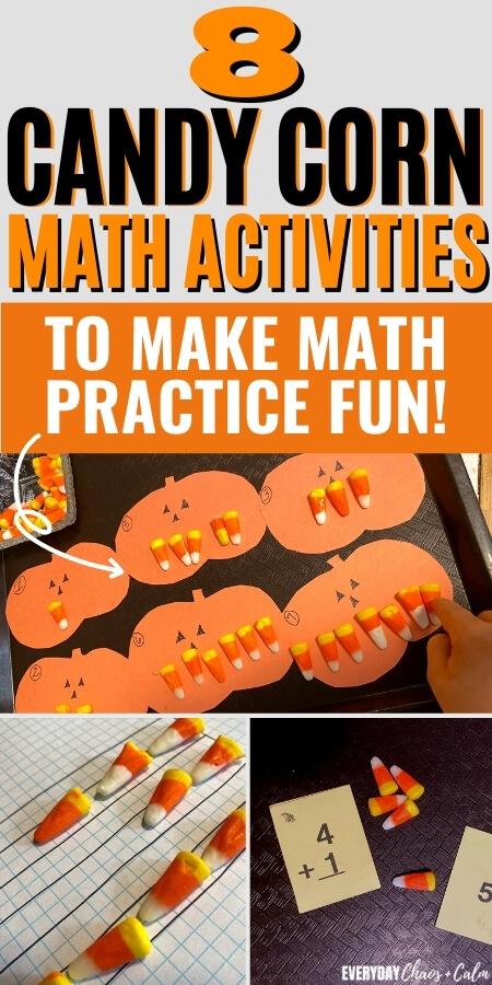 8 Fun Candy Corn Math Activities to make math practice fun