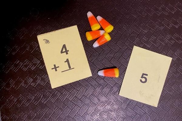 candy corn math practice